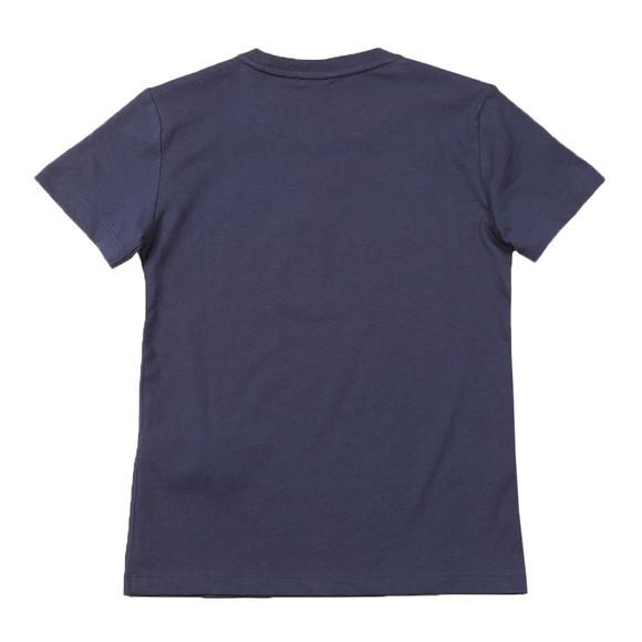EA7 Emporio Armani Boys Blue Outline 7 Logo T Shirt main image