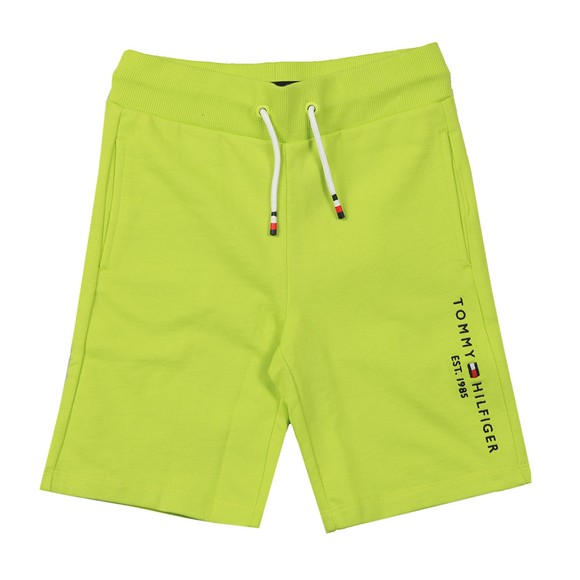 Tommy Hilfiger Kids Boys Green Essential Sweat Short