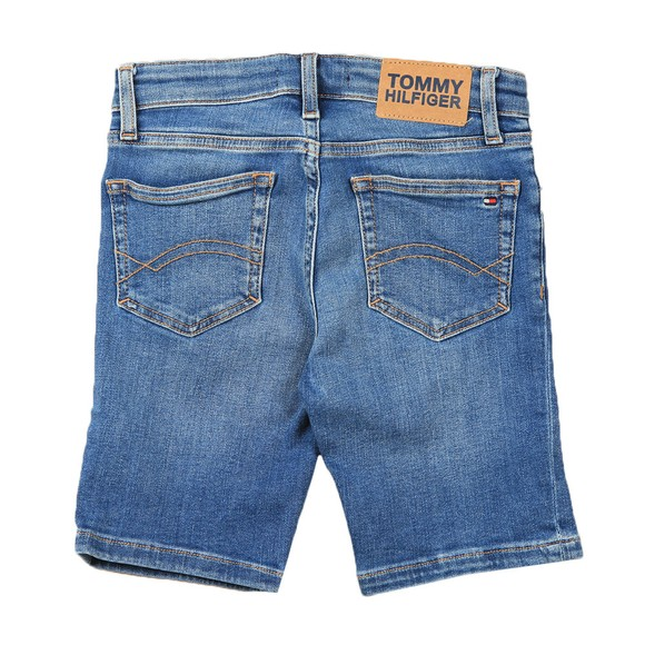 Tommy Hilfiger Kids Boys Blue Spencer Denim Short
