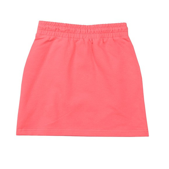 Tommy Hilfiger Kids Girls Pink Essential Logo Jersey Skirt