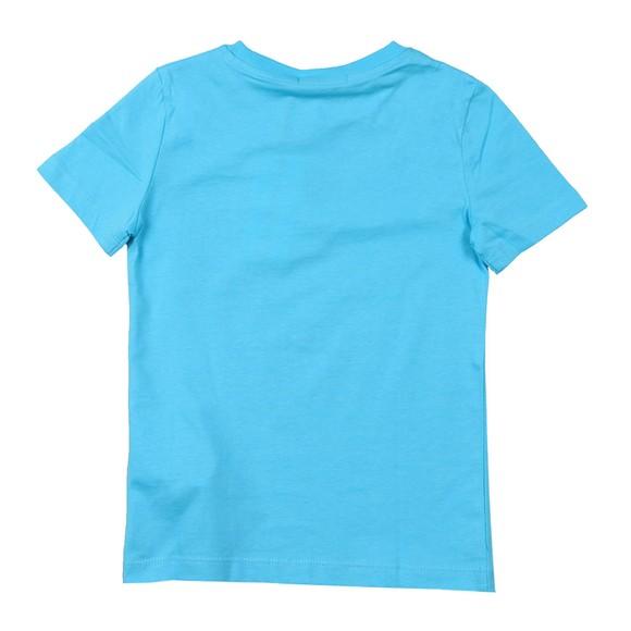 Calvin Klein Jeans Boys Blue Hybrid Logo T Shirt main image