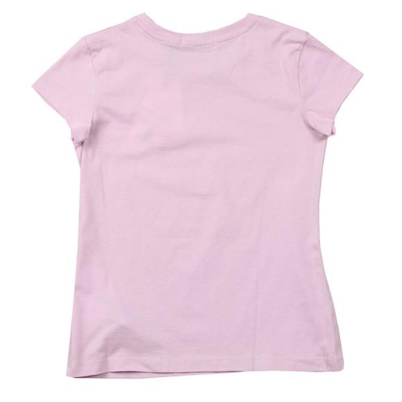 Calvin Klein Jeans Girls Pink Chest Monogram Top
