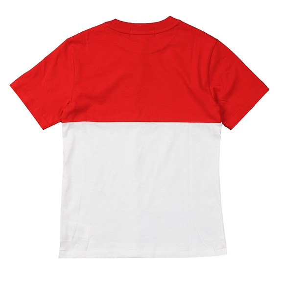 Polo Sport Ralph Lauren Boys White Two Block T-Shirt