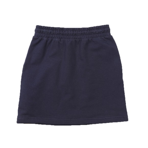 Tommy Hilfiger Kids Girls Blue Essential Logo Jersey Skirt