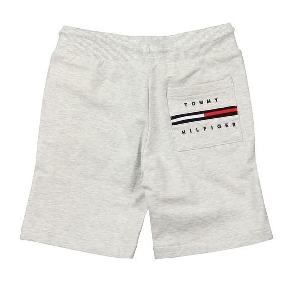 Tommy Hilfiger Kids Boys Grey Rib Insert Sweat Short