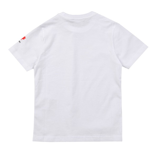 Dsquared2 Boys White Neck Logo T Shirt