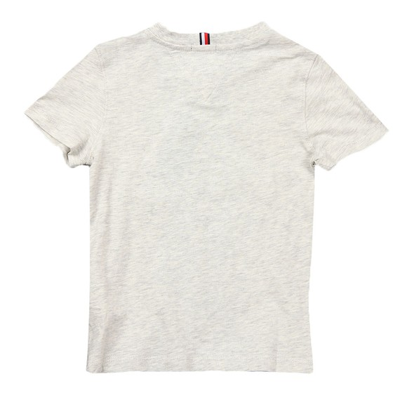 Tommy Hilfiger Kids Boys Grey Logo T Shirt