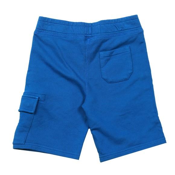 C.P. Company Undersixteen Boys Blue Viewfinder Sweat Cargo Short