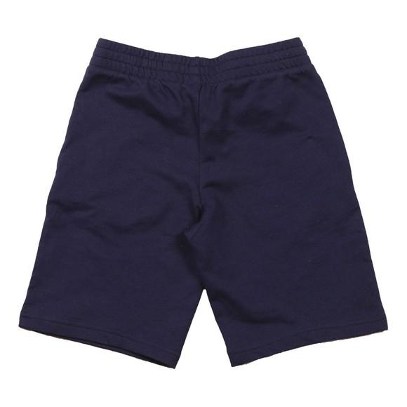 EA7 Emporio Armani Boys Blue Small Logo Jersey Short