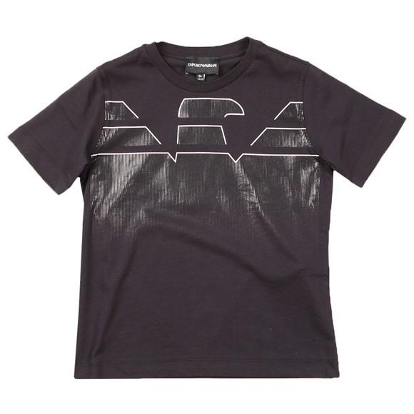 Emporio Armani Boys Blue 3K4VJN T Shirt & Short Set main image