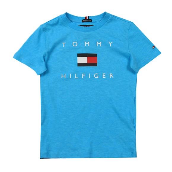 Tommy Hilfiger Kids Boys Blue Logo T Shirt