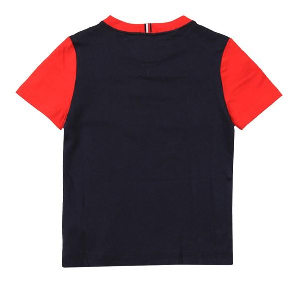 Tommy Hilfiger Kids Boys Blue Essential Colourblock T Shirt main image