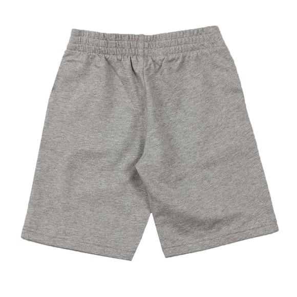 EA7 Emporio Armani Boys Grey Large Camo Logo Jersey Short