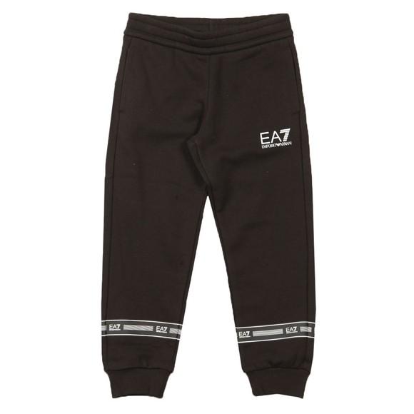 EA7 Emporio Armani Boys Black Small Logo Jogger main image