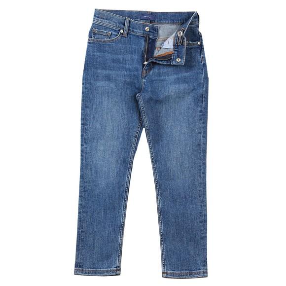 Gant Boys Blue Archive Shield Jean