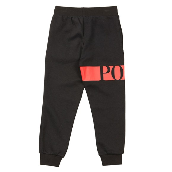 Polo Ralph Lauren Boys Black Logo Active Jogger main image