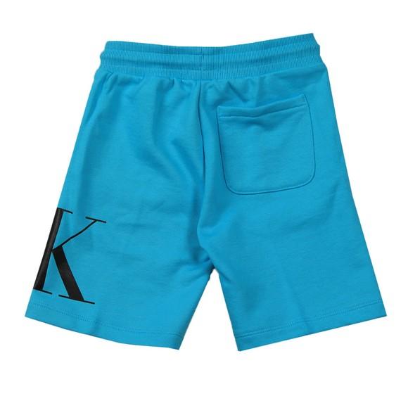Calvin Klein Jeans Boys Blue Hybrid Logo Jogger Shorts main image