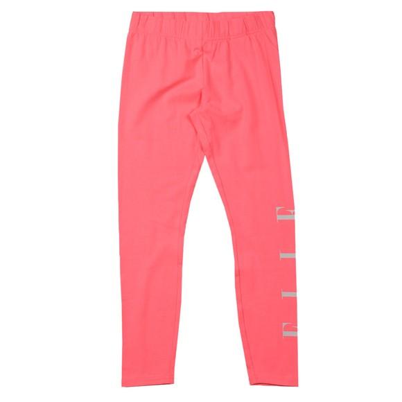 Elle Girls Pink Logo Legging