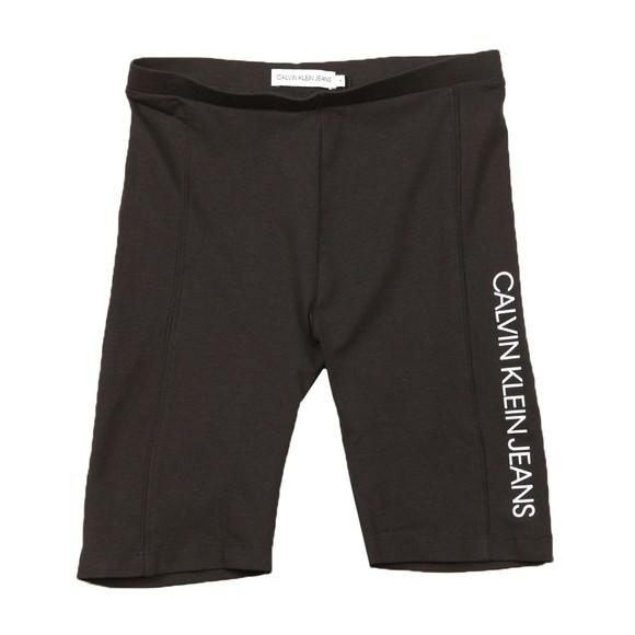 Calvin Klein Jeans Girls Black Cycling Short