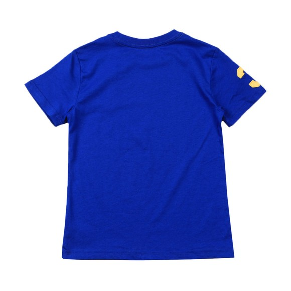 Polo Ralph Lauren Boys Blue Large Polo Player Crew T-Shirt