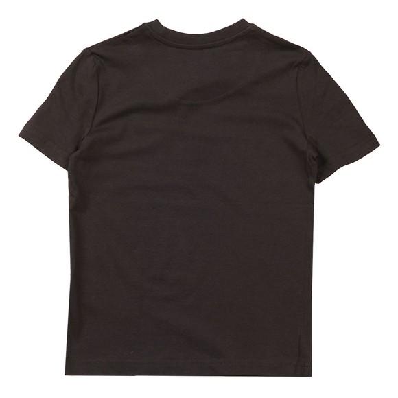 Lyle And Scott Junior Boys Black Plain Crew T-Shirt