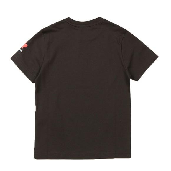 Dsquared2 Boys Black Neck Logo T Shirt main image