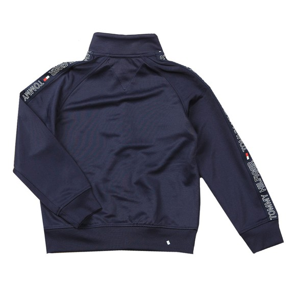 Tommy Hilfiger Kids Boys Blue Tape Tricot Tracksuit Top main image