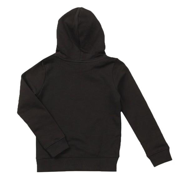 Calvin Klein Jeans Boys Black Hybrid Logo Hoody