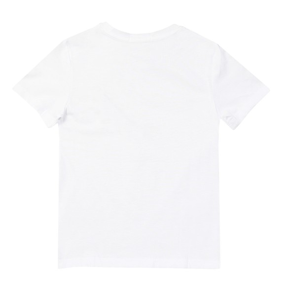 Calvin Klein Jeans Boys White Chest Monogram T Shirt