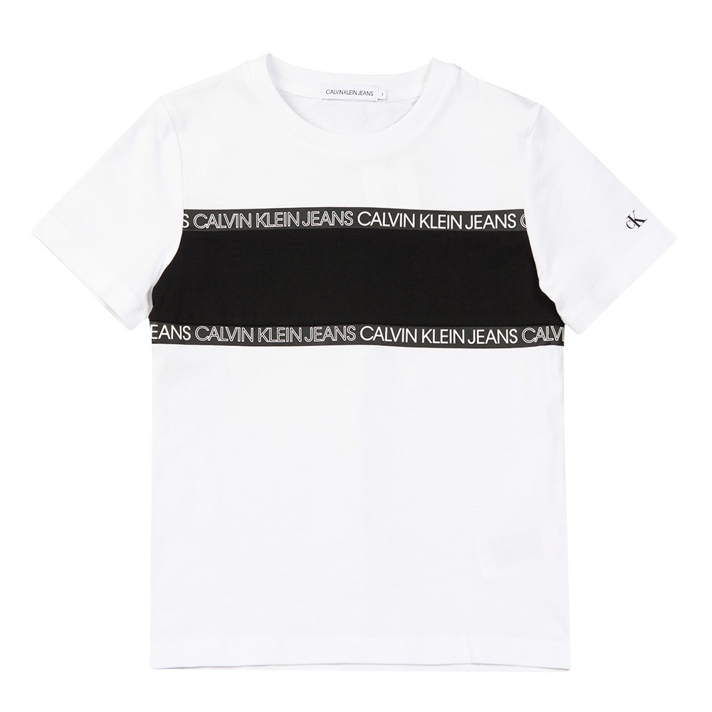 Logo Tape Colour Block T Shirt main image