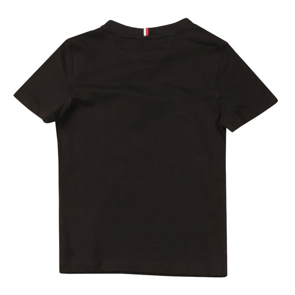 Tommy Hilfiger Kids Boys Black Essential T-Shirt