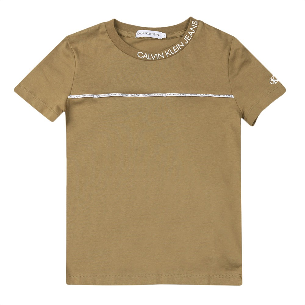 Logo Piping Fitted T Shirt main image