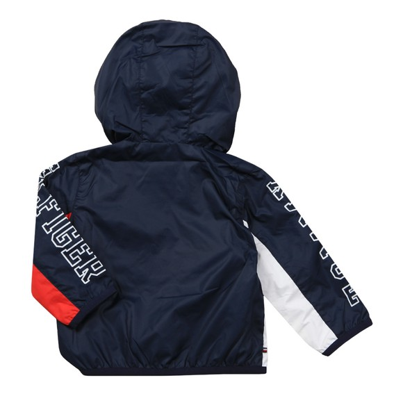 Tommy Hilfiger Kids Boys Blue Colourblock Jacket