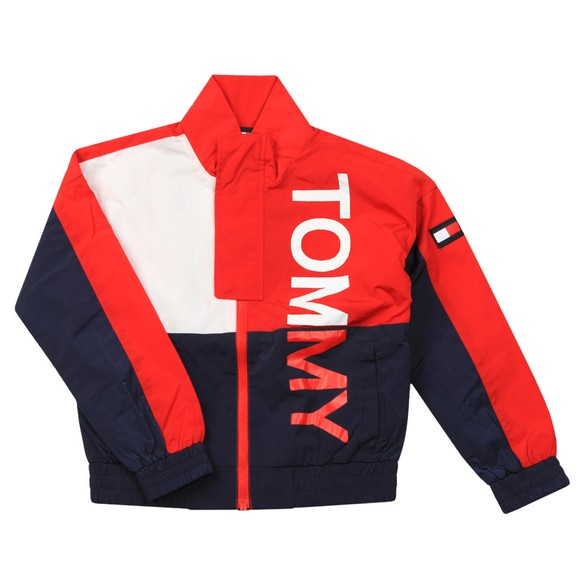 Tommy Hilfiger Kids Boys Red Bold Tommy Jacket