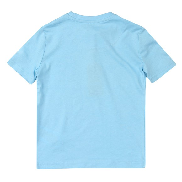 Lyle And Scott Junior Boys Blue Text T-Shirt main image