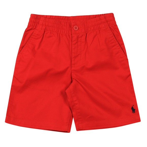 Polo Ralph Lauren Boys Red Boys Prepster Chino Short