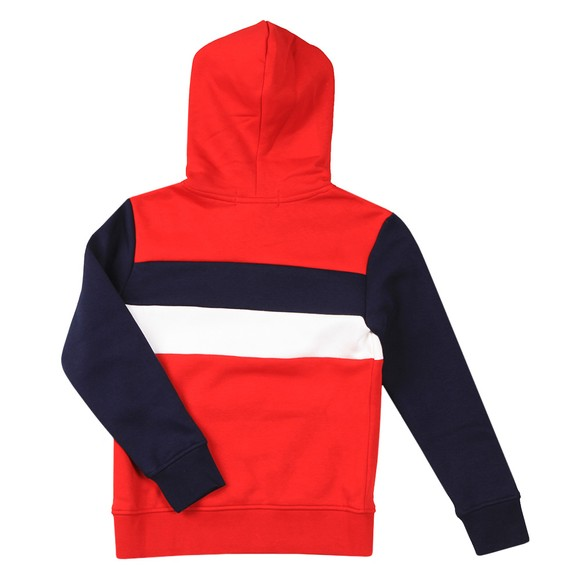 Polo Sport Ralph Lauren Boys Red Block Logo Overhead Hoody