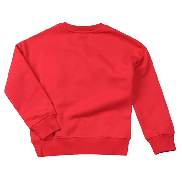 Kenzo Kids Girls Pink Kiki Lion Sweatshirt