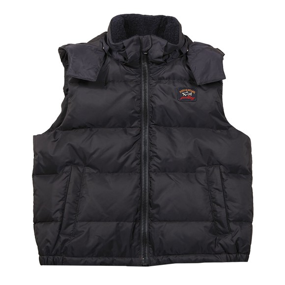 Paul & Shark Cadets Boys Blue Down Gilet