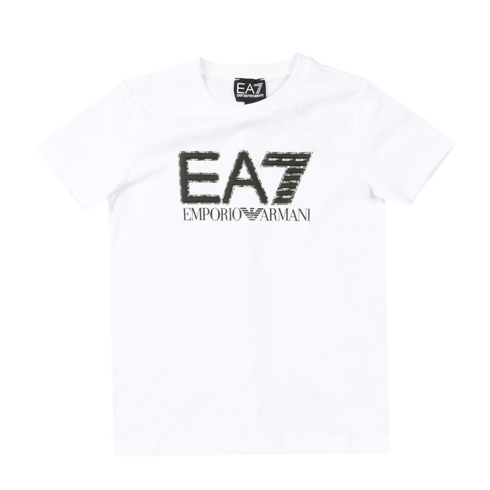 Large Camo Logo T Shirt