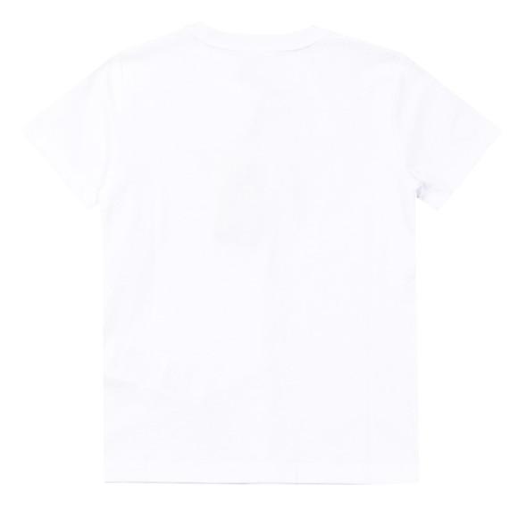 EA7 Emporio Armani Boys White Large Camo Logo T Shirt