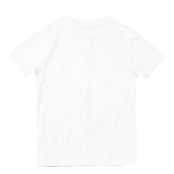 Polo Bear By Ralph Lauren Boys White Marine Bear T Shirt