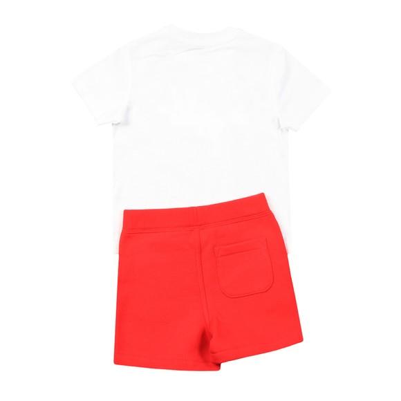 Polo Bear By Ralph Lauren Boys White Bear T Shirt & Short Set main image