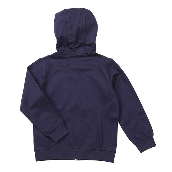 EA7 Emporio Armani Boys Blue Small Logo Hooded Tracksuit main image