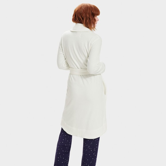 Ugg Womens Off-White Blanche II Dressing Gown main image
