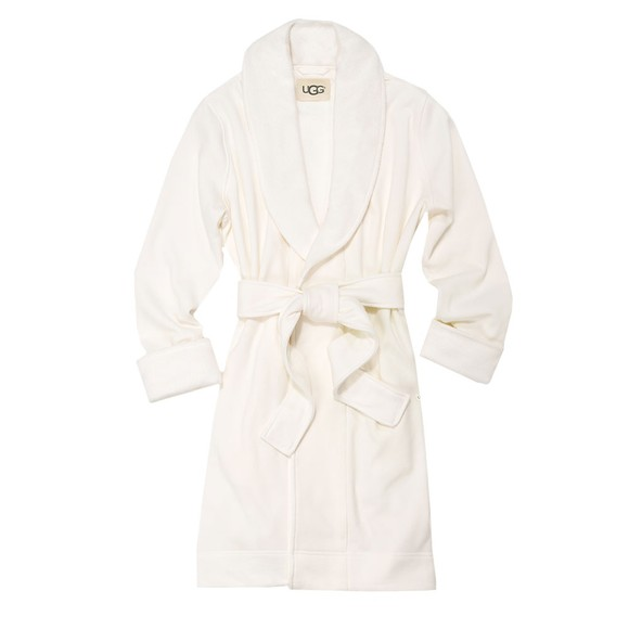 Ugg Womens Off-White Blanche II Dressing Gown