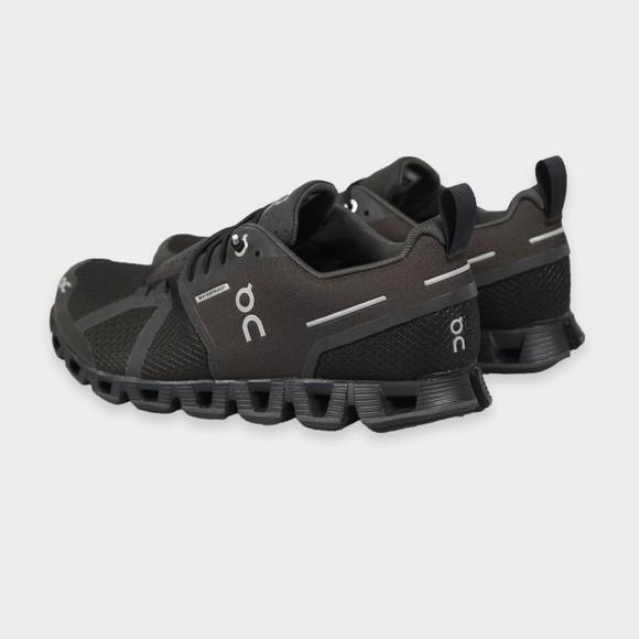 On Running Mens Black Cloud Waterproof Trainer main image