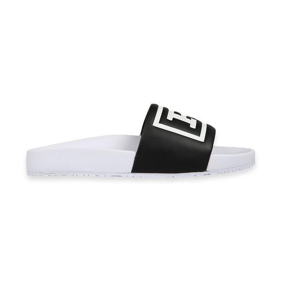 Polo Ralph Lauren Mens Black Cayson Logo Slide