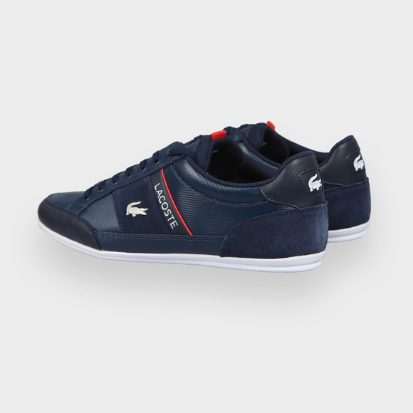Lacoste Mens Blue Chaymon 0721 Leather Trainer main image