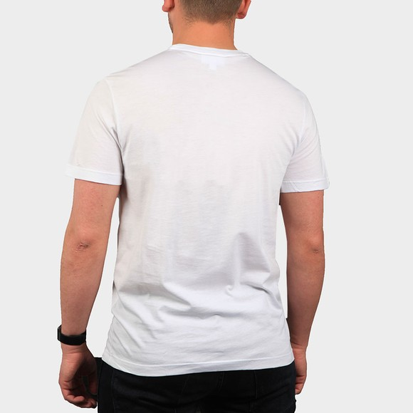 Lacoste Mens White TH2038 Plain T-Shirt main image